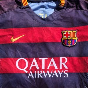 Lionel Messi FC Barcelona Jersey